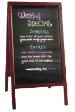 Great for restaurants, coffee shops, and many more.  This markerboard is sturdy and appealing.  Use our marker sets along with this stand.