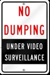 Under Surveillance Sign