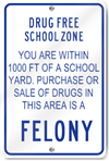 No Alcoholic Beverages Or Drugs Sign - SignsToYou.com