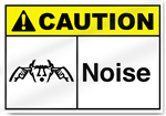 Noise Caution Signs