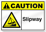 Slipway Caution Signs