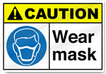 Wear Mask2 Caution Signs