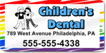 Children's Dental Magnet