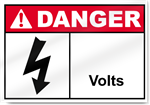 ____ Volts Danger Signs