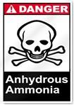 Anhydrous Ammonia Danger Signs