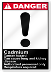 Cadmium Cancer Hazard Can Cause Lung And Danger Signs