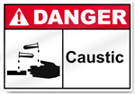 Caustic Danger Signs