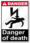 Danger Of Death Danger Signs