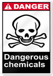 Dangerous Chemicals Danger Signs