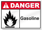 Gas, Fuel, Diesel Safety Signs