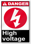 High Voltage2 Danger Signs