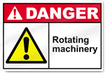 Rotating Machinery Danger Signs