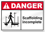 Scaffolding Incomplete2 Danger Signs