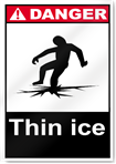 Thin Ice Danger Signs