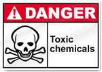 Toxic Chemicals Danger Signs