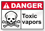 Toxic Vapors Danger Signs