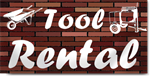 Tool Rental Banners