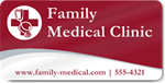 Family Medical Clinic Magnet