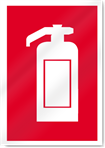 Extinguisher Symbol Fire Signs