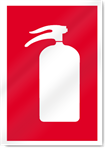 Extinguisher Symbol2 Fire Signs