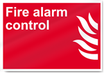 Fire Alarm Control Fire Sign