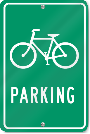 Bicycle Parking Bicycle Graphic Sign Signstoyou Com