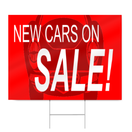 Car Sale Sign Signstoyou Com