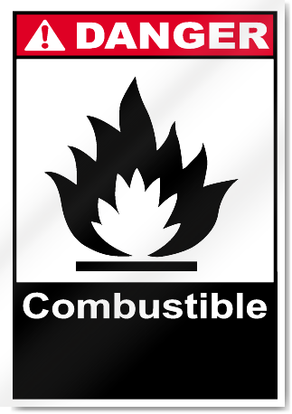 Combustible Danger Signs