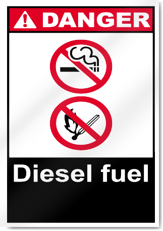 Diesel Fuel Danger Signs