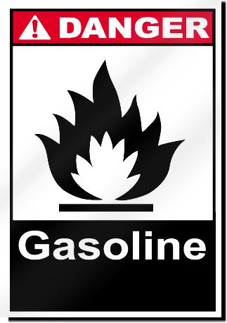 Gasoline Danger Signs   SignsToYou com