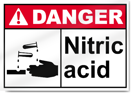 Nitric Acid Danger Signs Signstoyou