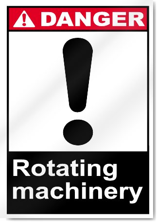 Rotating Machinery Danger Signs Signstoyou Com