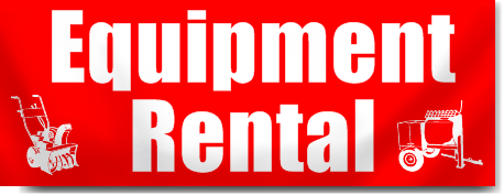 Equipment Rental Banners