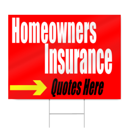 homeowners insurance quotes sign signstoyou com