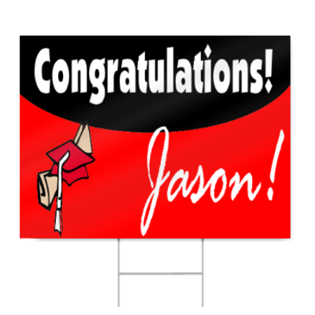 junior high school graduation sign signstoyou com