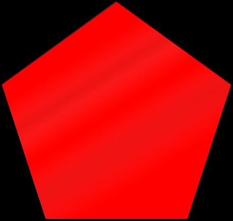 Pentagon Shaped Magnet | SignsToYou.com