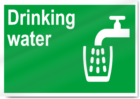 Drinking Water Safety Signs | SignsToYou.com