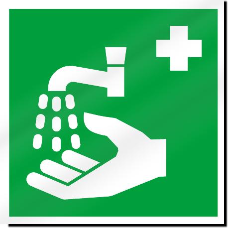 Handwash Symbol Safety Signs Signstoyou Com