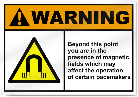 Beyond This Point You Are In The Presen2 Warning Signs