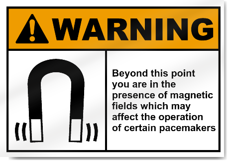Beyond This Point You Are In The Presen3 Warning Signs