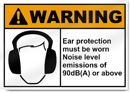 Ear protection noise levels home