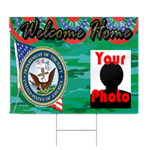 Navy Welcome Home Sign