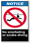 no swimming notice signs signstoyoucom