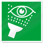 Emergency Eyewash Symbol Safety Signs