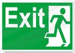 Exit Right2 Safety Signs