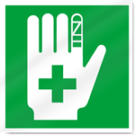 First Aid Symbol Safety Signs