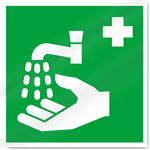 Handwash Symbol Safety Signs