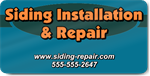 Siding Installation and Repair Magnet