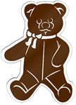 Teddy Bear Shaped Magnet