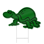 Turtle Shaped Sign